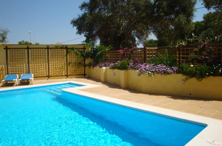 Fenced and Secluded 8m+ pool