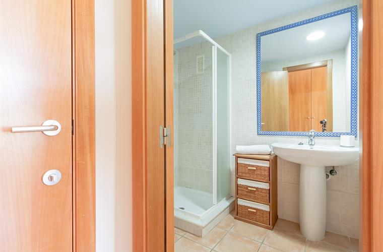 Secon bathroom with shower