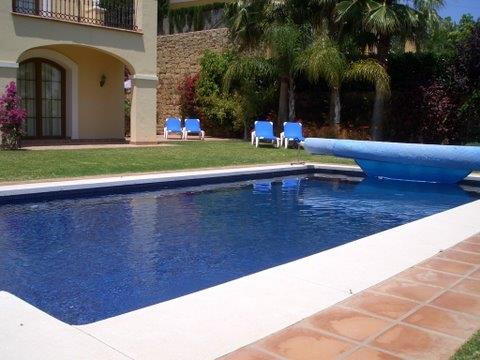 Relax by the heated pool and all your worries waft away