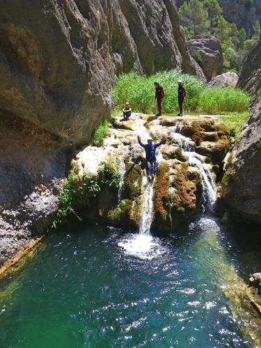 Canyoning is one of the many activities you can book