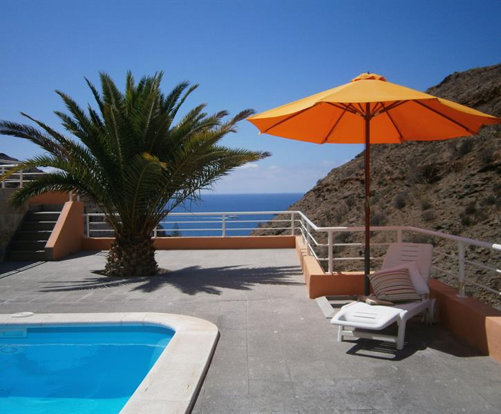 Private seaview swimming pool and terrace