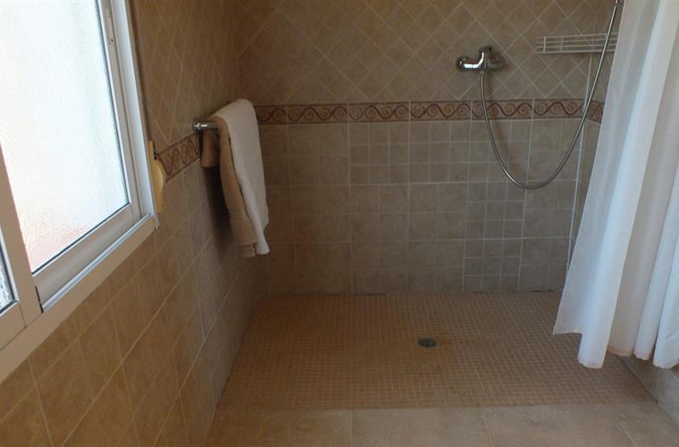 Large Wet room For A Wheelchair User