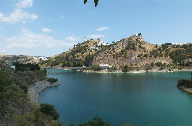 Lake And Village Of Iznajar -What A Dream Place