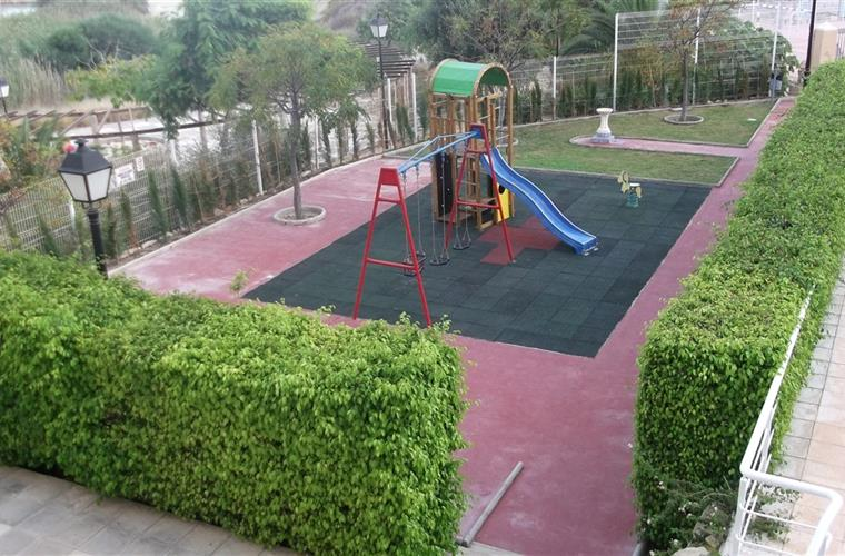 Childrens play park within the complex