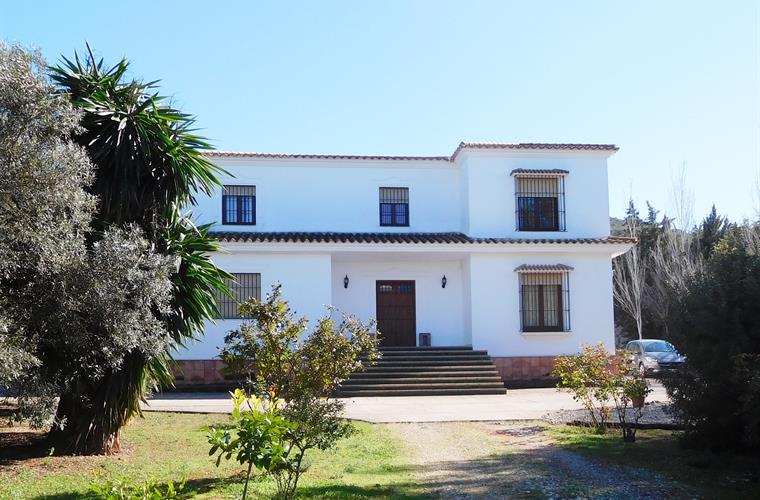 Casa La Sierrecilla - the front entrance