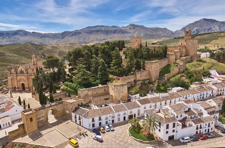 Antequera's old town and Moorish castle