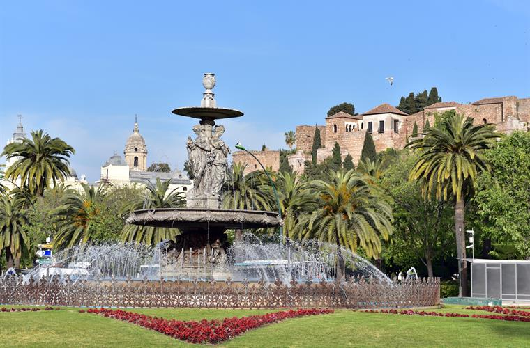 The vibrant Mediterranean city of Malaga