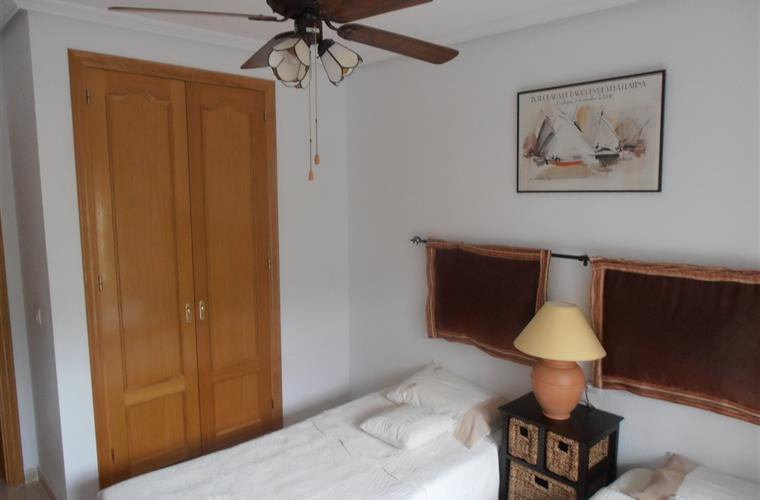 Wake up to great views of the Altea Hills from bedroom two..