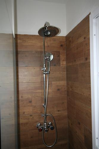 Wood shower
