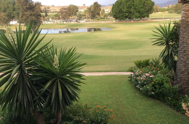 View our garden and golf course