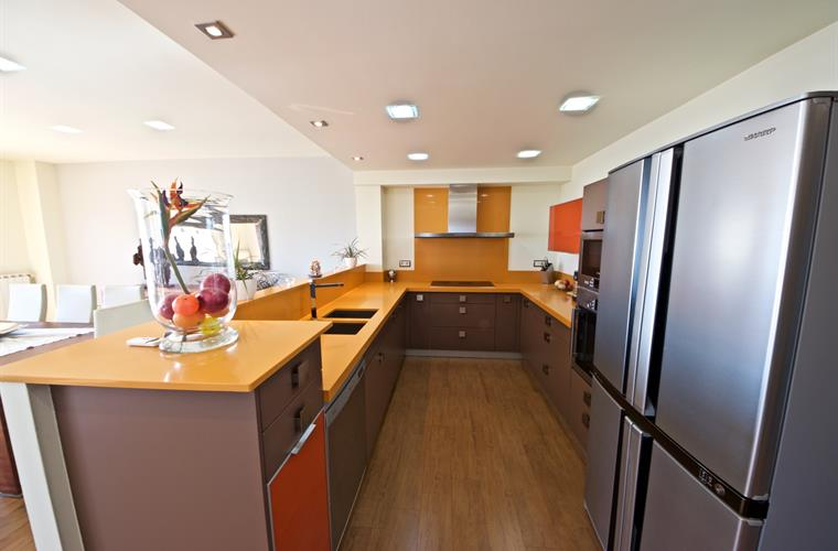 The mandarin themed kitchen!