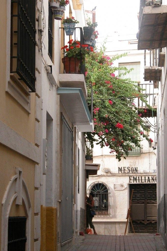 Holiday Townhouse For Rent In Almunecar Old Town