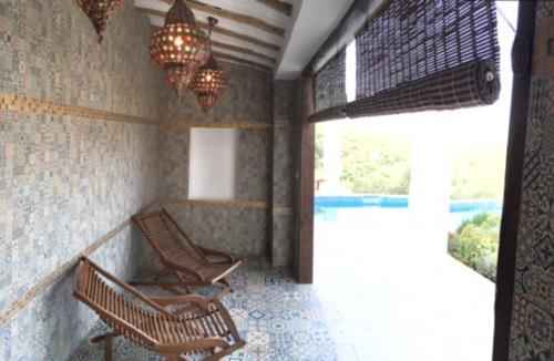 Cool off in the Alcazar room
