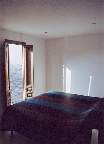 Valley view.  The second bedroom