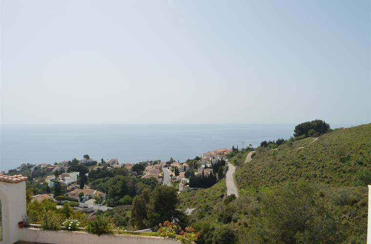 View to South to the Med and peaceful countryside.
