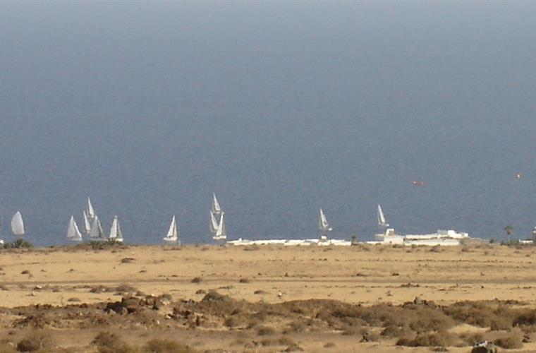 View from Casa Camella´s Terrace - Yacht Racing at Puerto Calero