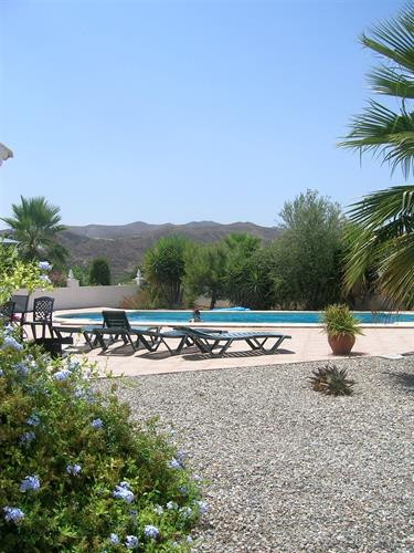 View Of The Mountains & Pool