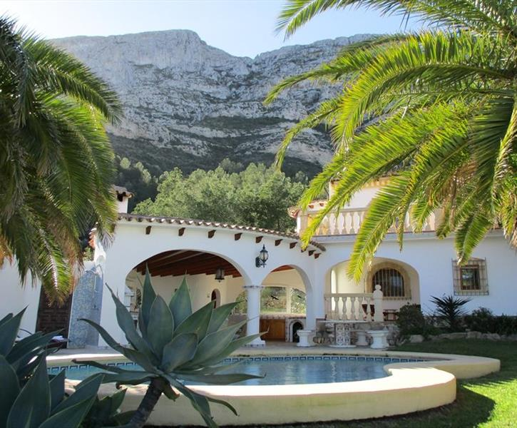 Villa Costa Blanca, photo 1, Front Garden view.
