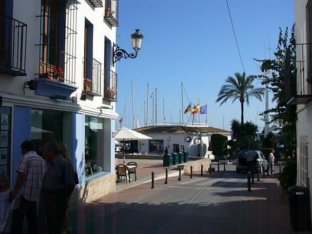Moraira  - walking from centre of town down to marina