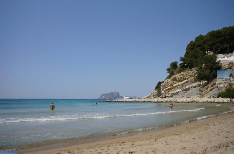 Another of Moraira's superb beaches