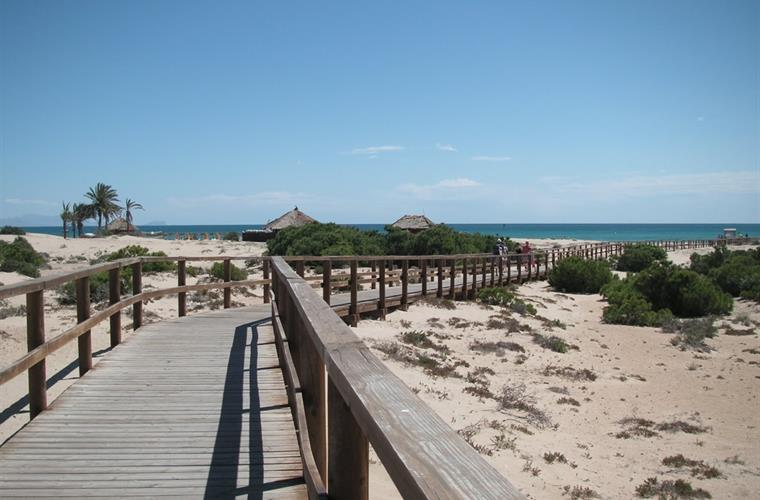 One of the boardwalks to the beach