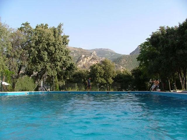 Our favourite pool - Las Lomas, Guejar Sierra
