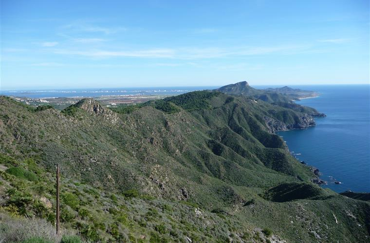 A view of Calblanque national Park.  10 minutes away!