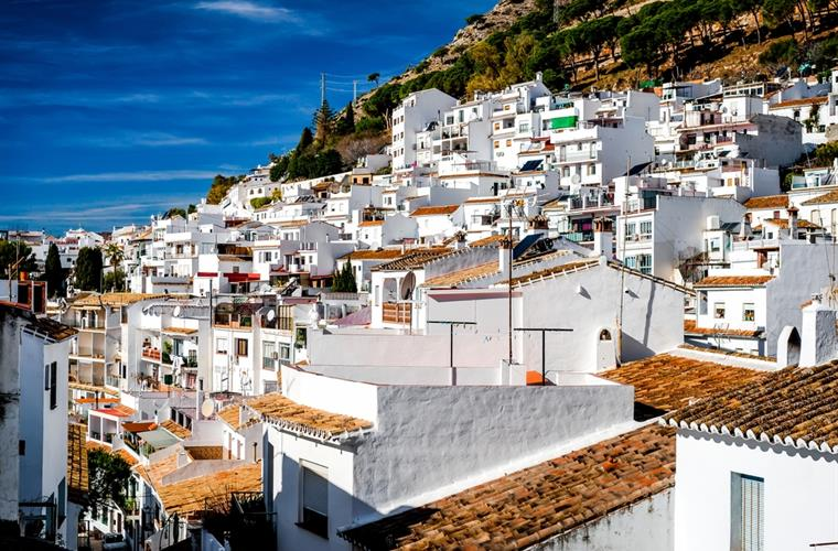Typical Andalusian village, Mijas 12 minutes by car.