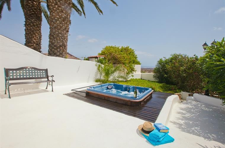 Hot Tub - near the pool but private - Villa Antonio