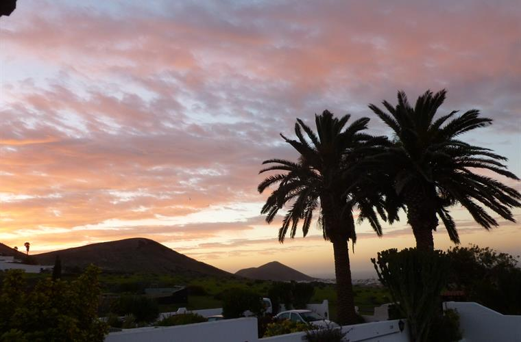 Sunset at Villa Antonio Lanzarote