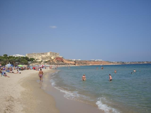Beach at Campoamor