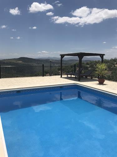 large private 10x5 m pool for your exclusive use.