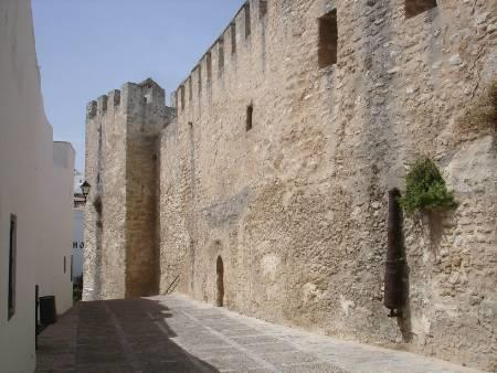the walls of the old town
