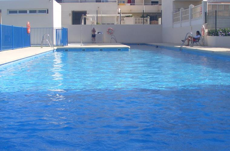 One of the pools on development