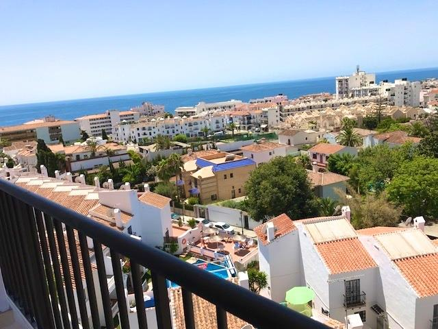 View From The Apartment (overlooking Nerja And The Sea)