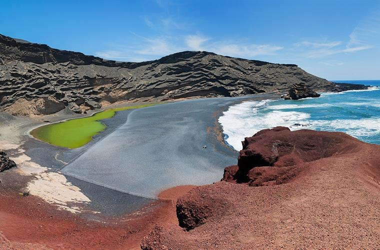 Lanzarote attraction: El Golfo
