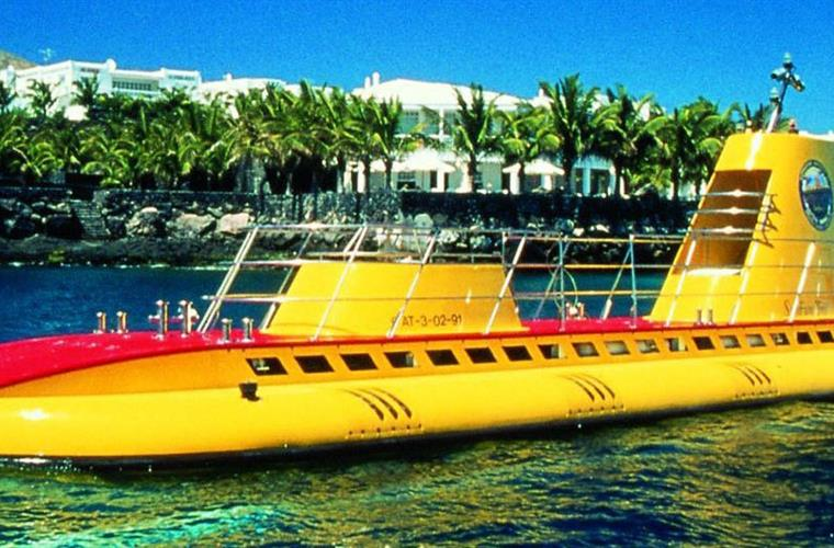 Lanzarote Attraction: Submarine tours
