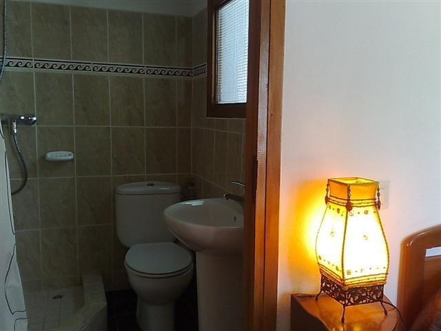 En-suite with shower basin  & WC
