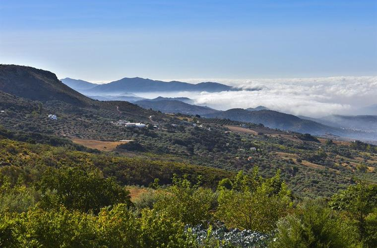 Spectacular unspoilt countryside of the Axarquia