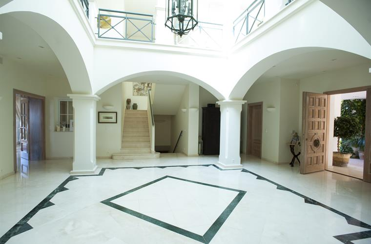 Main entrance hall.
