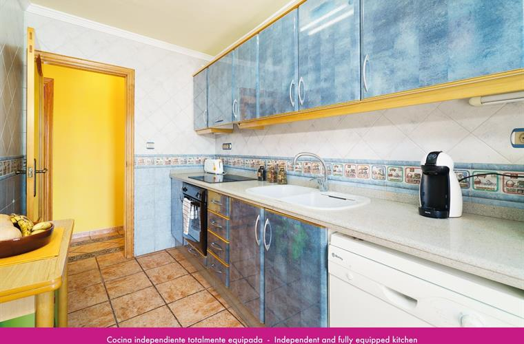 Independent and fully equipped kitchen