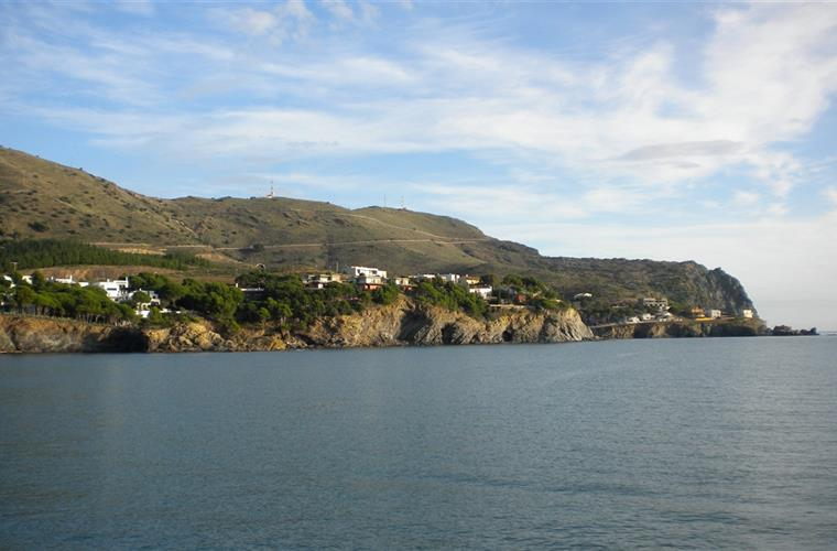 La Rovellada from the bay
