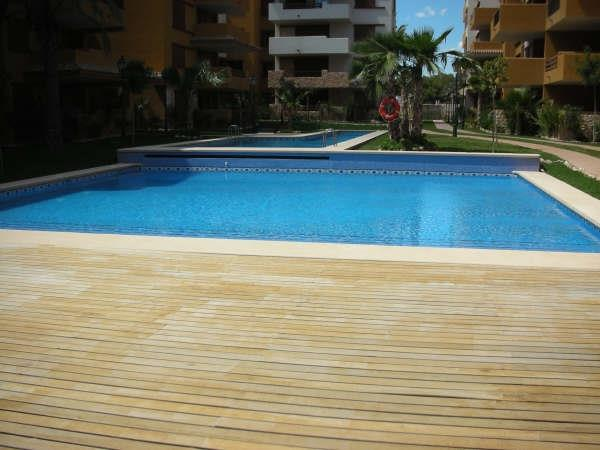 Lovely WoodenPlatform/2Pools & see blue Mediterrenian across!