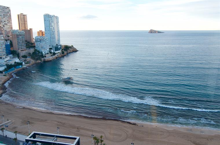 Levante beach view from apartment