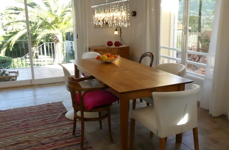 Indoor dining table