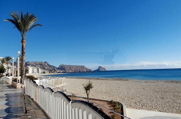 Altea, L'Espigo beach
