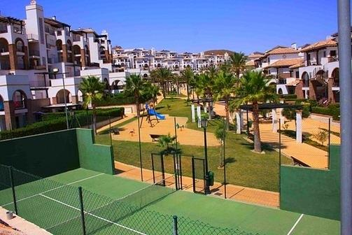 Tennis Court within the Complex, there is also 2 padel courts