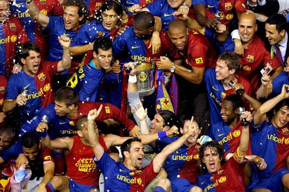 Barcelona has also one of the best football teams in the world