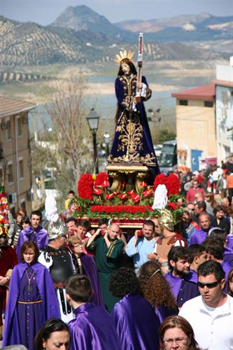 Easter procession i Iznajar