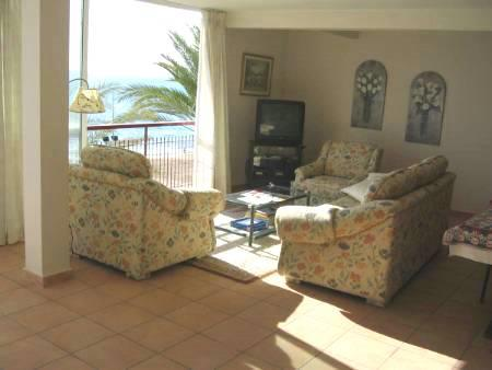 holiday apartment frontline Benidorm
